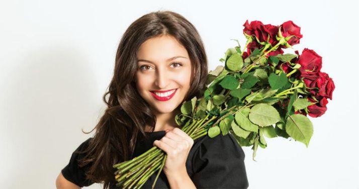 Hoa sinh nhật đẹp tặng bạn gái